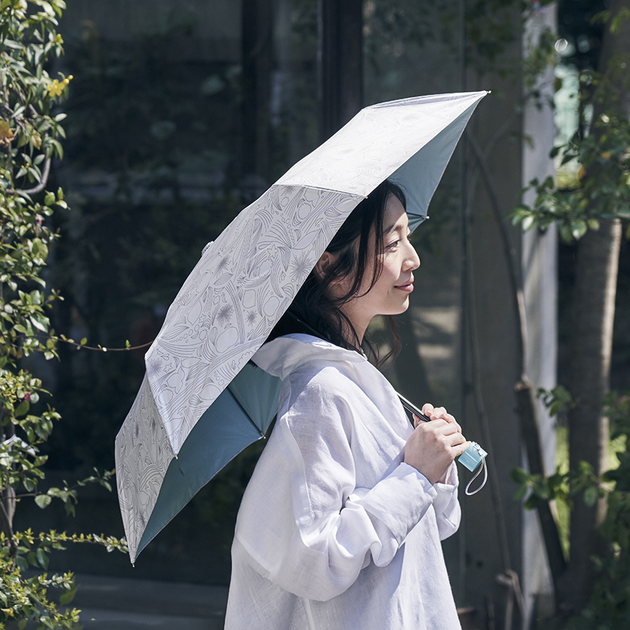 【プレゼント!】〈特製 晴雨兼用折りたたみ傘〉